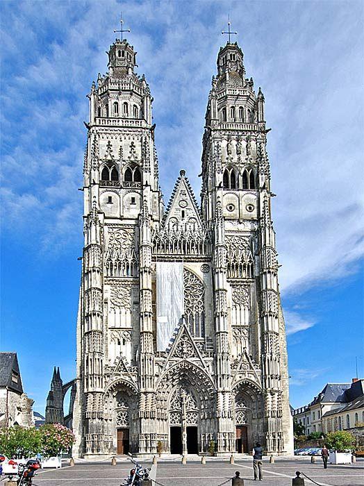 ToursStGatien Cathedral Catedrales E Iglesias Pinterest - Tours france