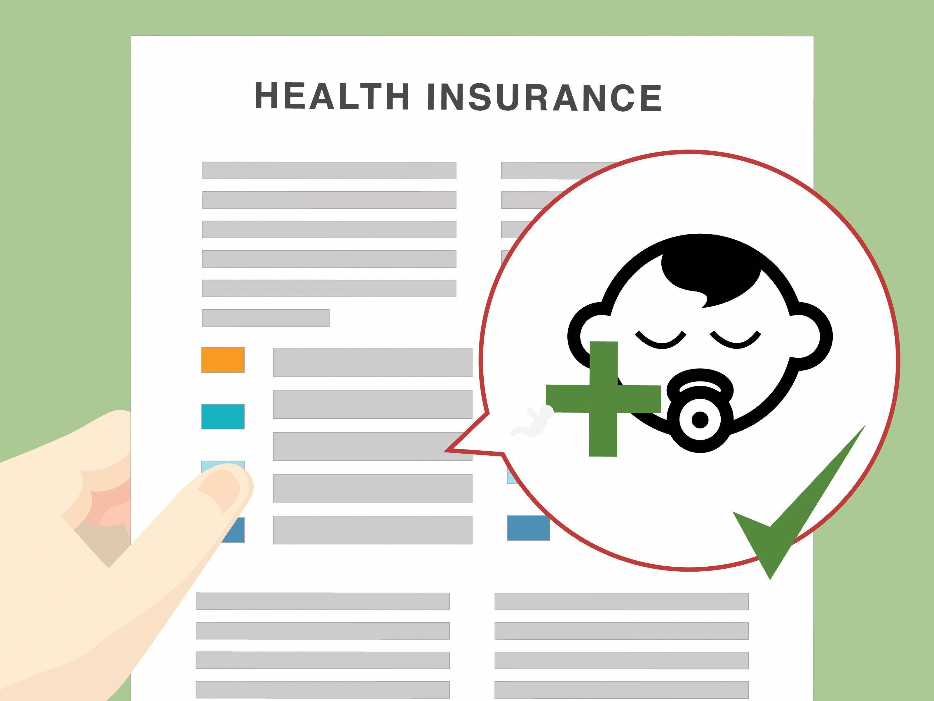 Wie Man Ein Baby Zur Krankenversicherung Hinzufugt Health