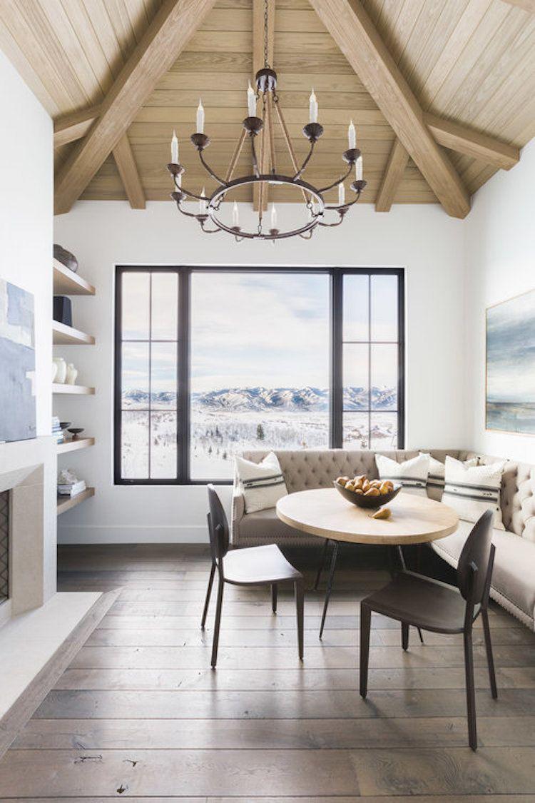 Visite Deco Le Style Chalet Blanc Par Nicole Davis Divide House