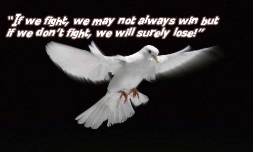 If We Fight We May Not Always Win But If We Dont Fight We Will Surely Lose Courage Quotes Motivational Quotes For Athletes Inspirational Quotes Pictures