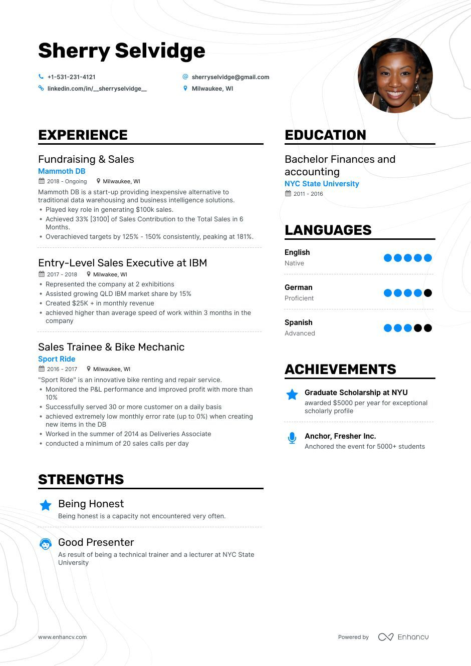 6 Entry Level Sales Resume Examples Adapted For 2019 Sales Resume Examples Resume Examples Sales Resume