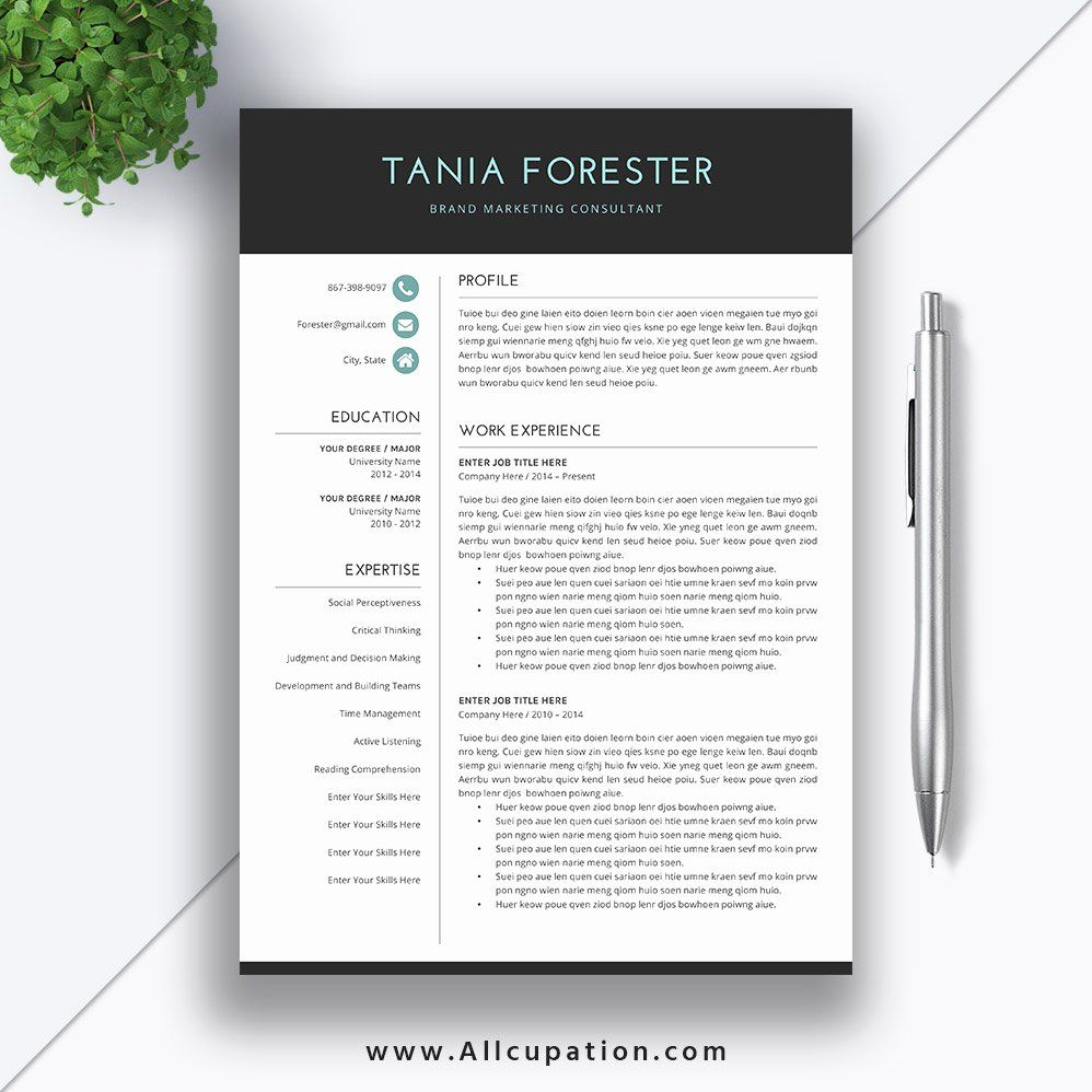 40 Simple Cover Letter Template Word in 2020 Simple