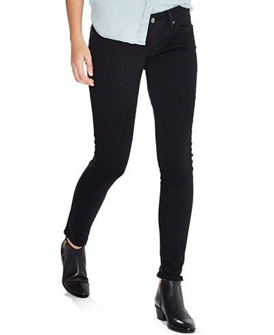 0713cbe7 These skinny jeans are made for curves! The Levi's 811 is specially  contoured to prevent gapping, for a perfect, body-hugging fit that won't  let you down.