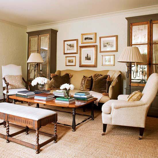 Living Room Decorating And Design Neutral Living Room Home