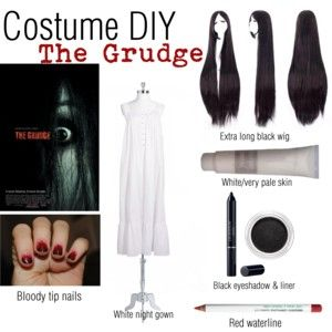 Costume DIY The Grudge  sc 1 st  Pinterest & Costume DIY: The Grudge | Pinterest | Costumes Halloween diy and ...