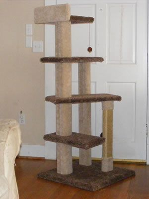 Build Cat Tree House How To Find Free Plans For Building Your Own Cat Condo Yahoo