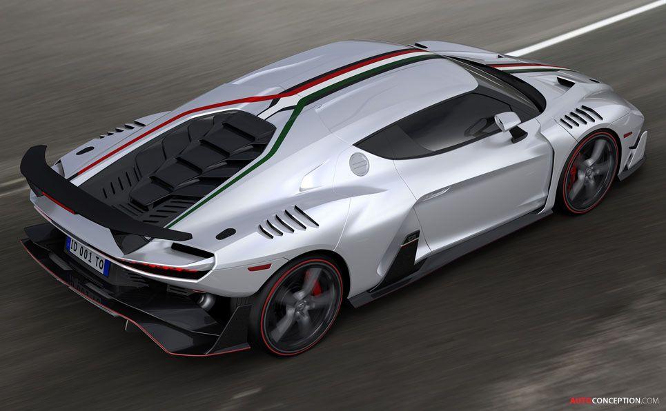 Italdesign Zerouno V10 Supercar Marks Birth Of New Car Brand Super Cars Expensive Sports Cars Car Brands