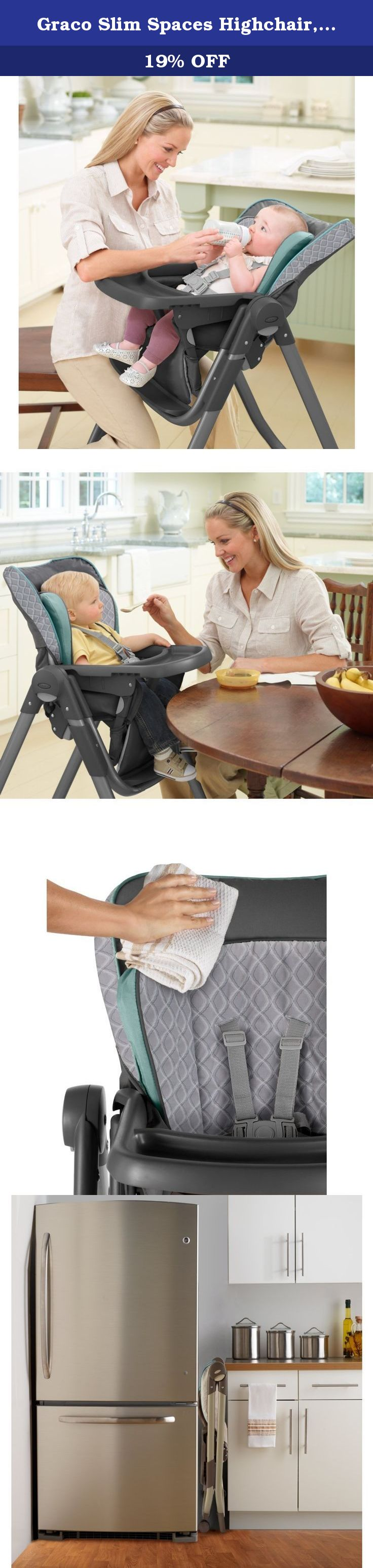 Graco Slim Spaces High Chair Reclining Barber Highchair Manor When It Comes To