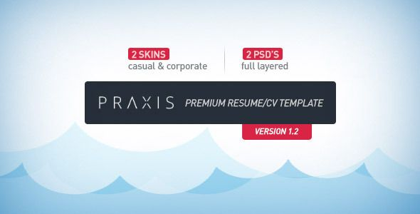 Shopping Praxis - Premium Resume CV Templatetoday price drop and - promotion on resume