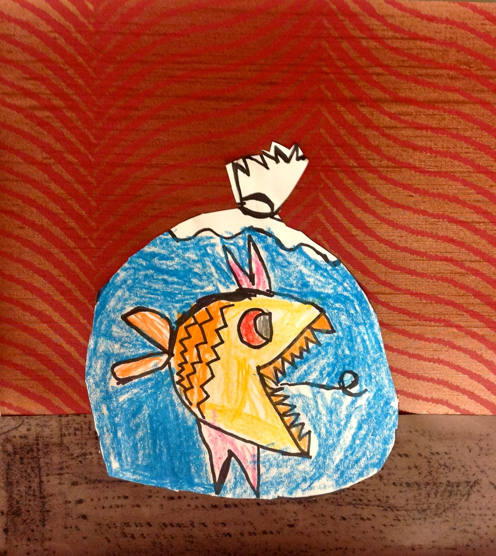 Kinder Art Lesson