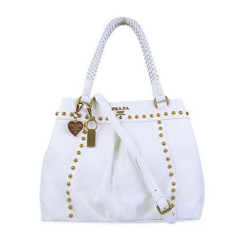 Prada handbags 1882 white   Designer handbags   Pinterest   Prada ... 7b5275b675