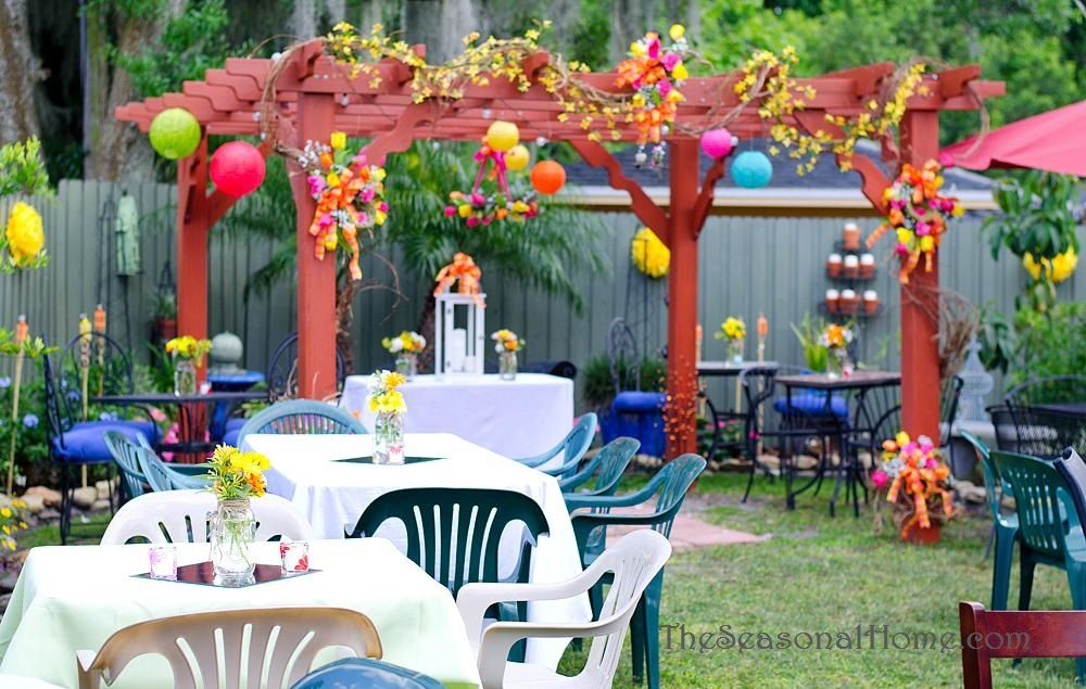 Impressive on Backyard Reception Ideas Ideas For A Budget ...