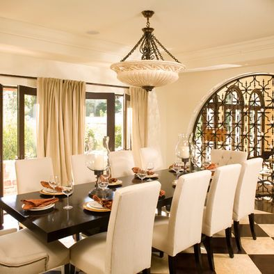 Mediterranean Dining Room Design Pictures Remodel Decor And