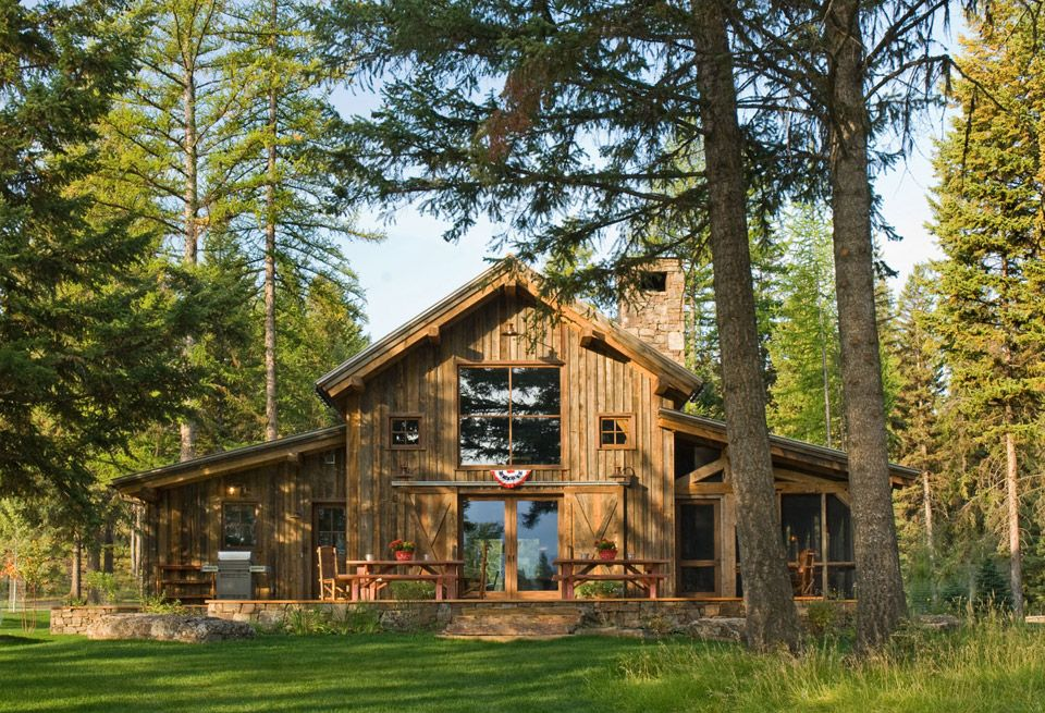 exceptional small barn style homes #2: House builders