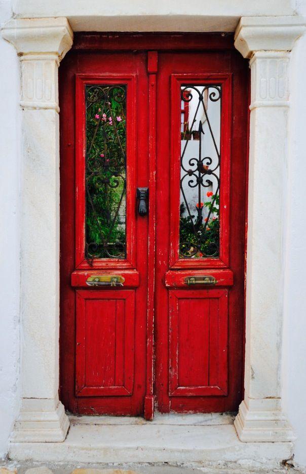 DSC_5119 Portes et Les cyclades - peinture porte et fenetre