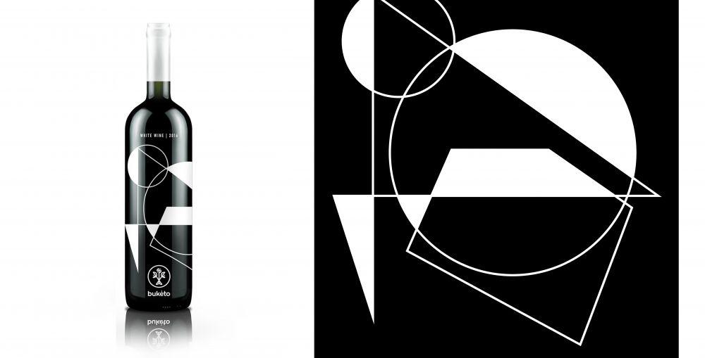 Buketo lazy snail design label design it works design
