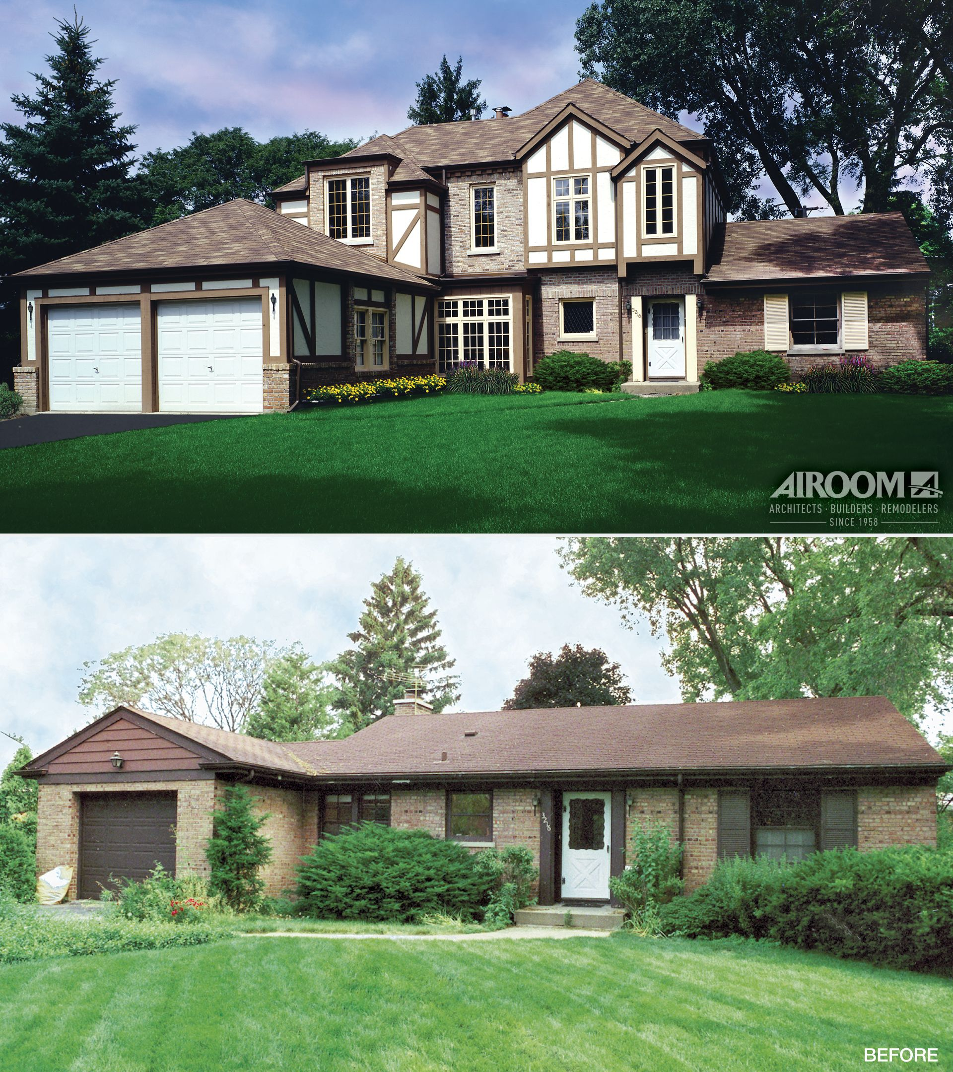 Wilmette Home Addition Gallery Ranch House Remodel Ranch House Additions Ranch Style Homes