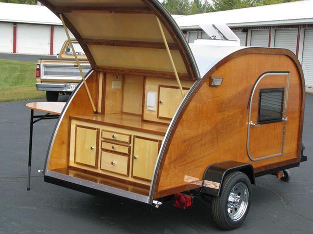 Big Woody Teardrop Camper Trailer Plans PDF Download   eBay