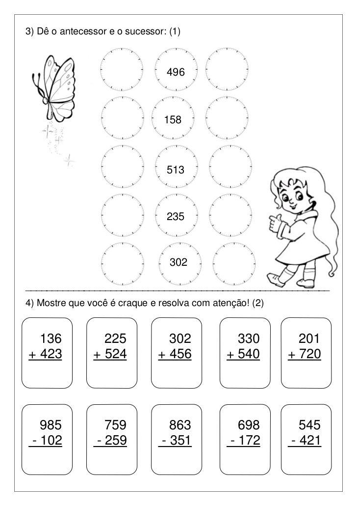 Avaliacao De Matematica Com Imagens Avaliacao De Matematica