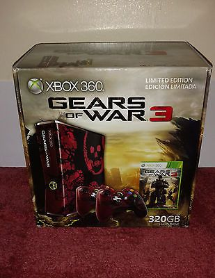 [Used] Microsoft Xbox 360 S: Gears of War 3 Limited Edition 320 GB Console https://t.co/ftV6zVpsAq https://t.co/HT1TyK5RvM