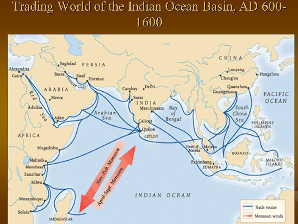 Map of indian ocean routes claire and ceresa indian ocean trade map of indian ocean routes publicscrutiny Images
