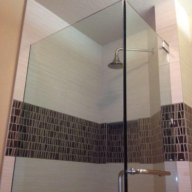 big horizontal stripe tile