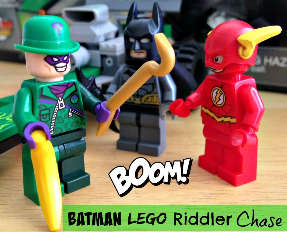 Batman Lego Riddler Chase Who's going to save The Flash