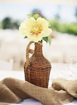 Cute centrepiece for a picnic!