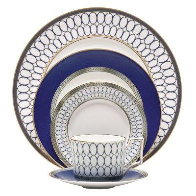 Wedgwood Renaissance Gold Dinnerware #williamssonoma #holidaystyle