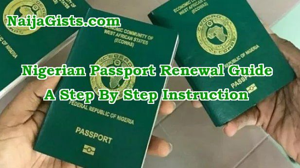 Nigerian passport renewal uk