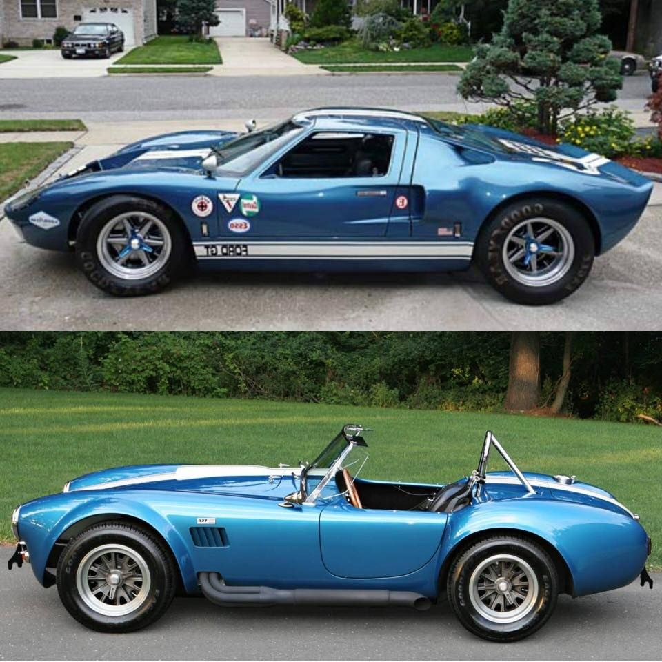 Ford Gt Or Cobra Ford Gt Ford Shelby Cobra Ford Classic Cars