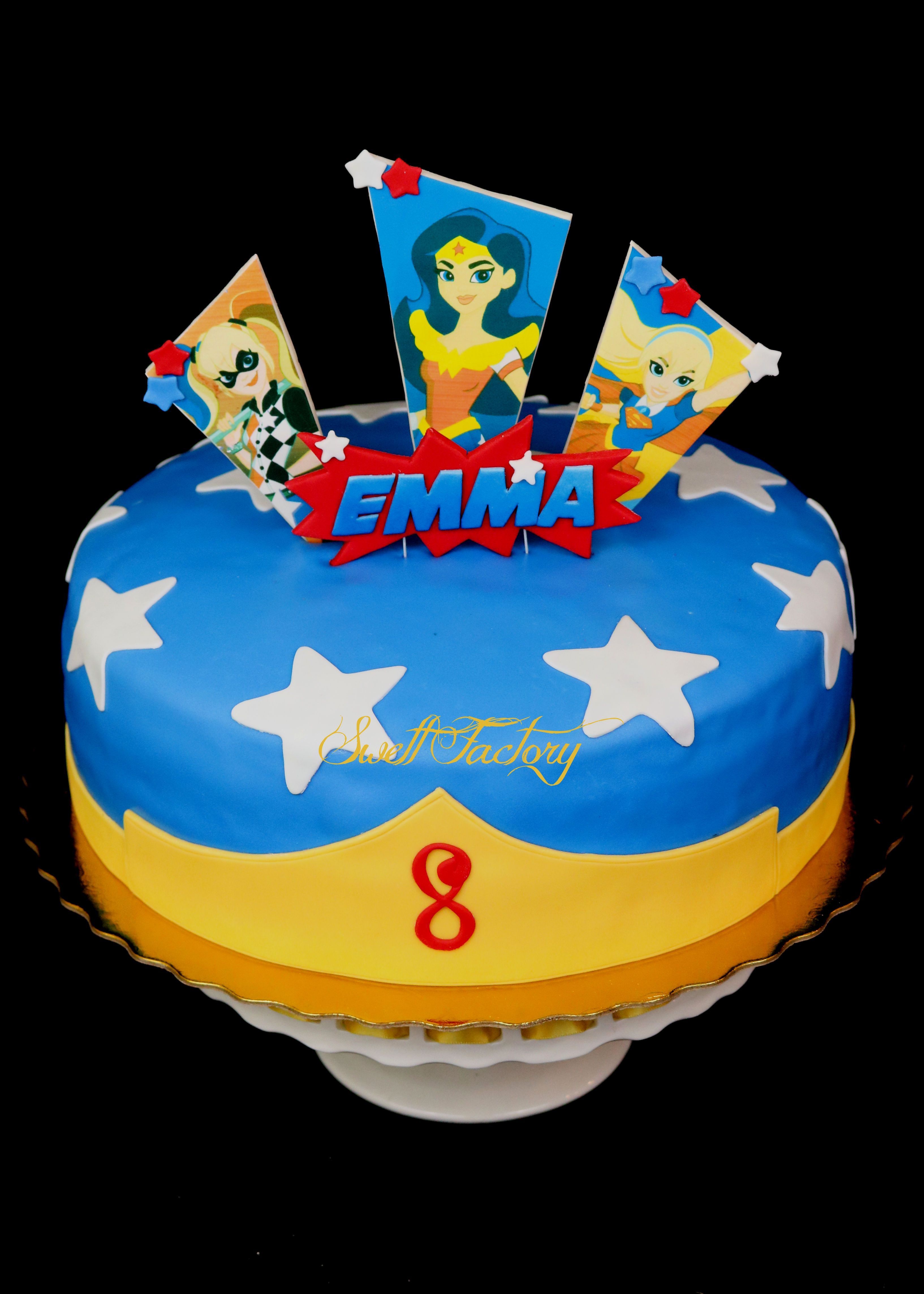 DC SuperHeros Girls Cake Super Girl Woman Dc Superhero