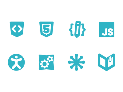 Icons for the WebPlatform project