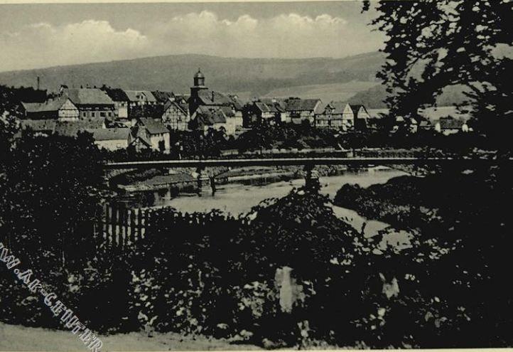 Beiseförth, Hessen, Deutschland, Postkarte aus den 30er Jahren