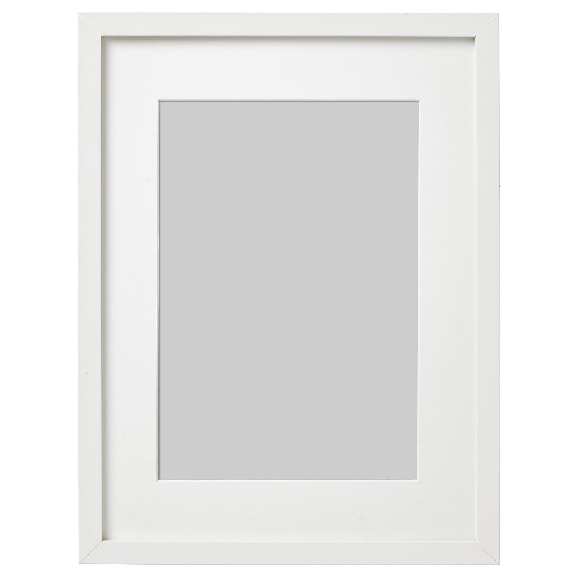 Ribba Frame White Ikea In 2020 Ribba Frame Frames On Wall Frame