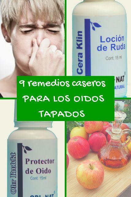 Remedio para los oidos tapados por la gripe