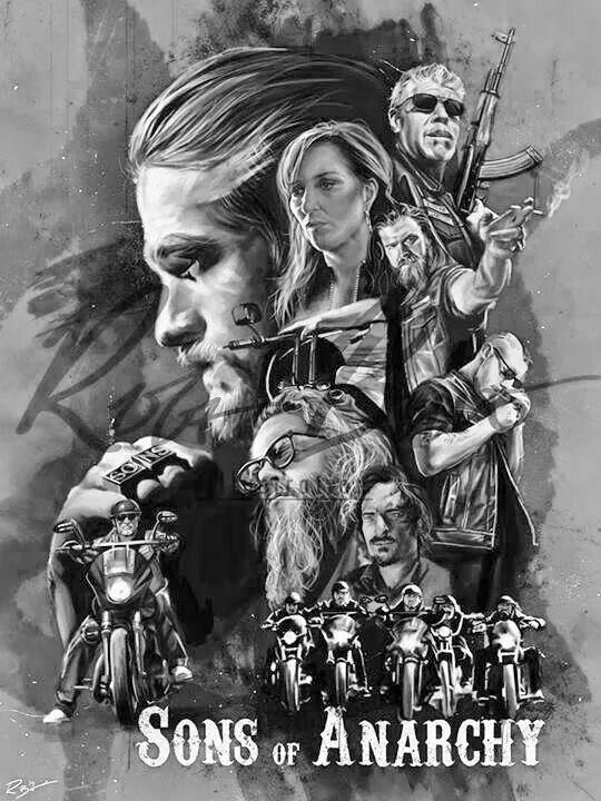 Artwork Sons Of Anarchy Sons Of Anarchy Movie Sons Of Anarchy Motorcycles