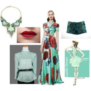 #Lucitegreen #outfit #color #spring #2015