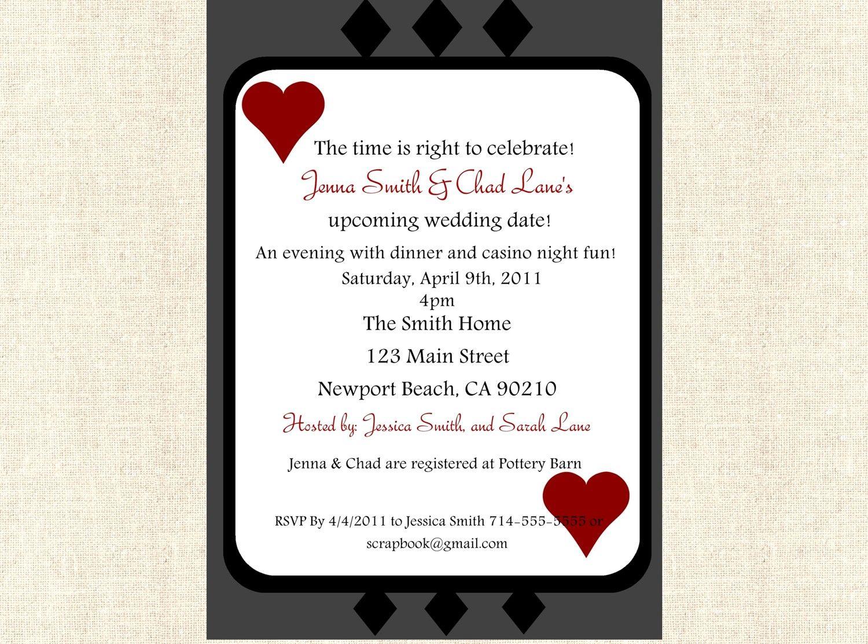 casino invitations templates - Google Search | Casino Party ...