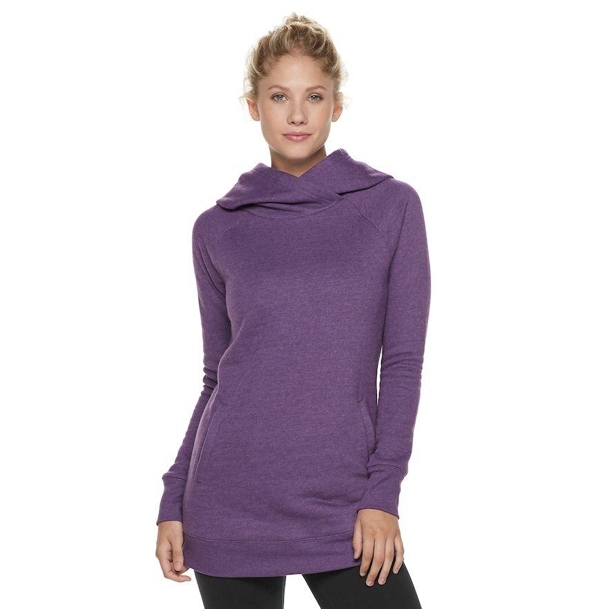 a2ce6c83aaa Women s Tek Gear® Ultrasoft Fleece Hooded Tunic