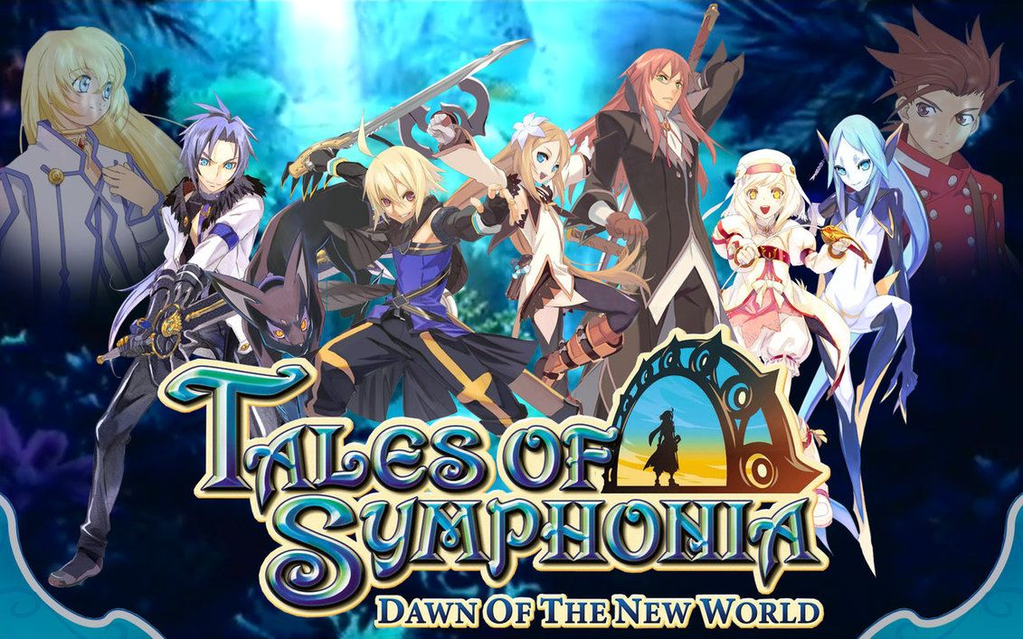 Tales Of Symphonia Dawn Of The New World Tales Of Graces Knight