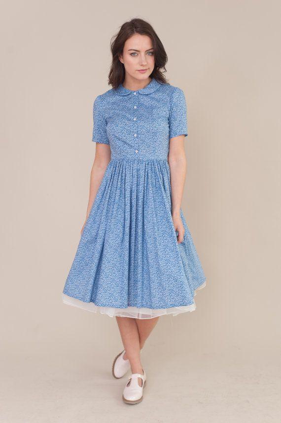 Peter Psn collar dress https://www.etsy.com/de/listing/276497428 ...