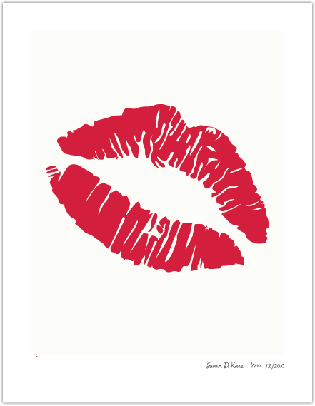 большой поцелуй картинка