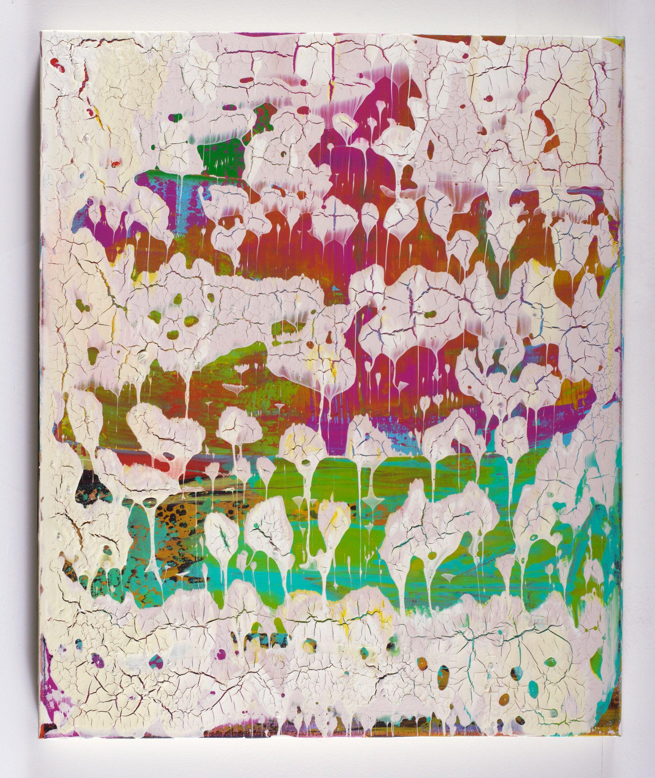 Stingrays 20x24 Acrylic on canvas by Chad Mars