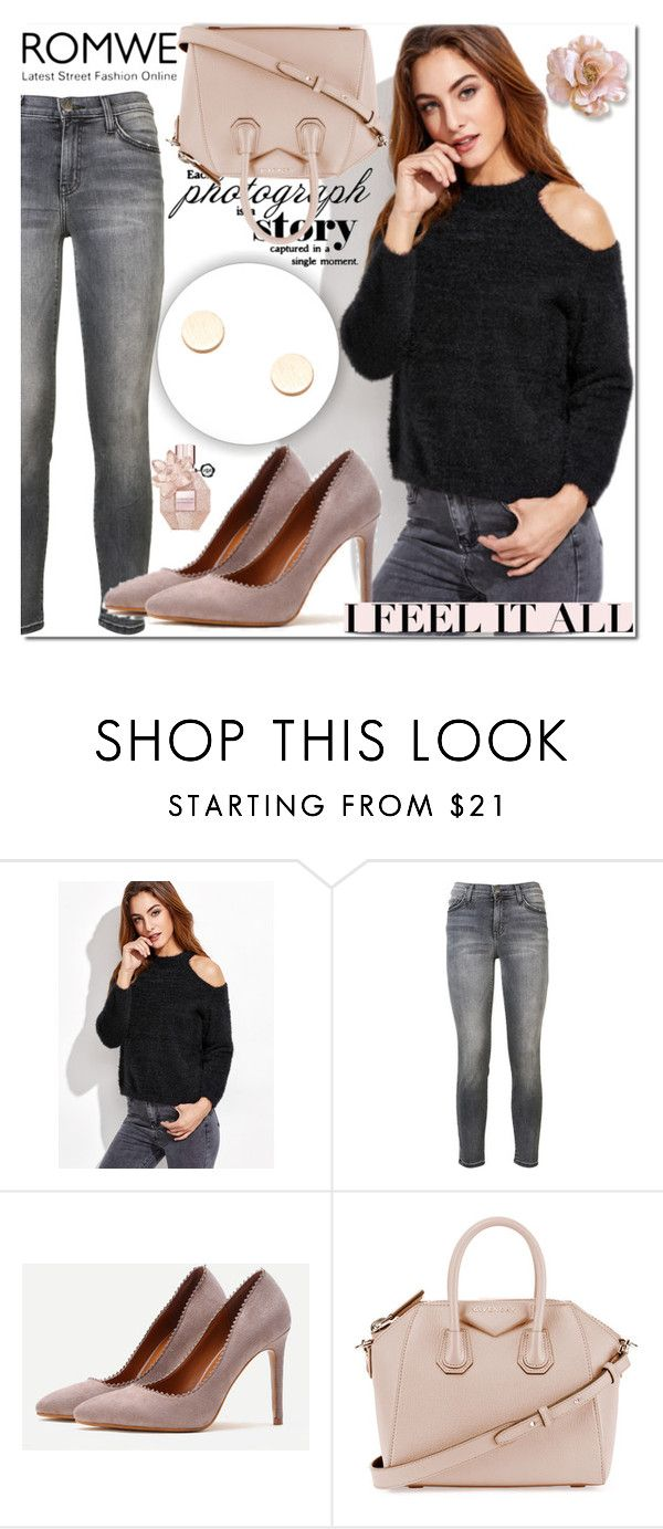 """""""Romwe 7"""" by miralemaa ❤ liked on Polyvore featuring Current/Elliott, Givenchy and romwe"""