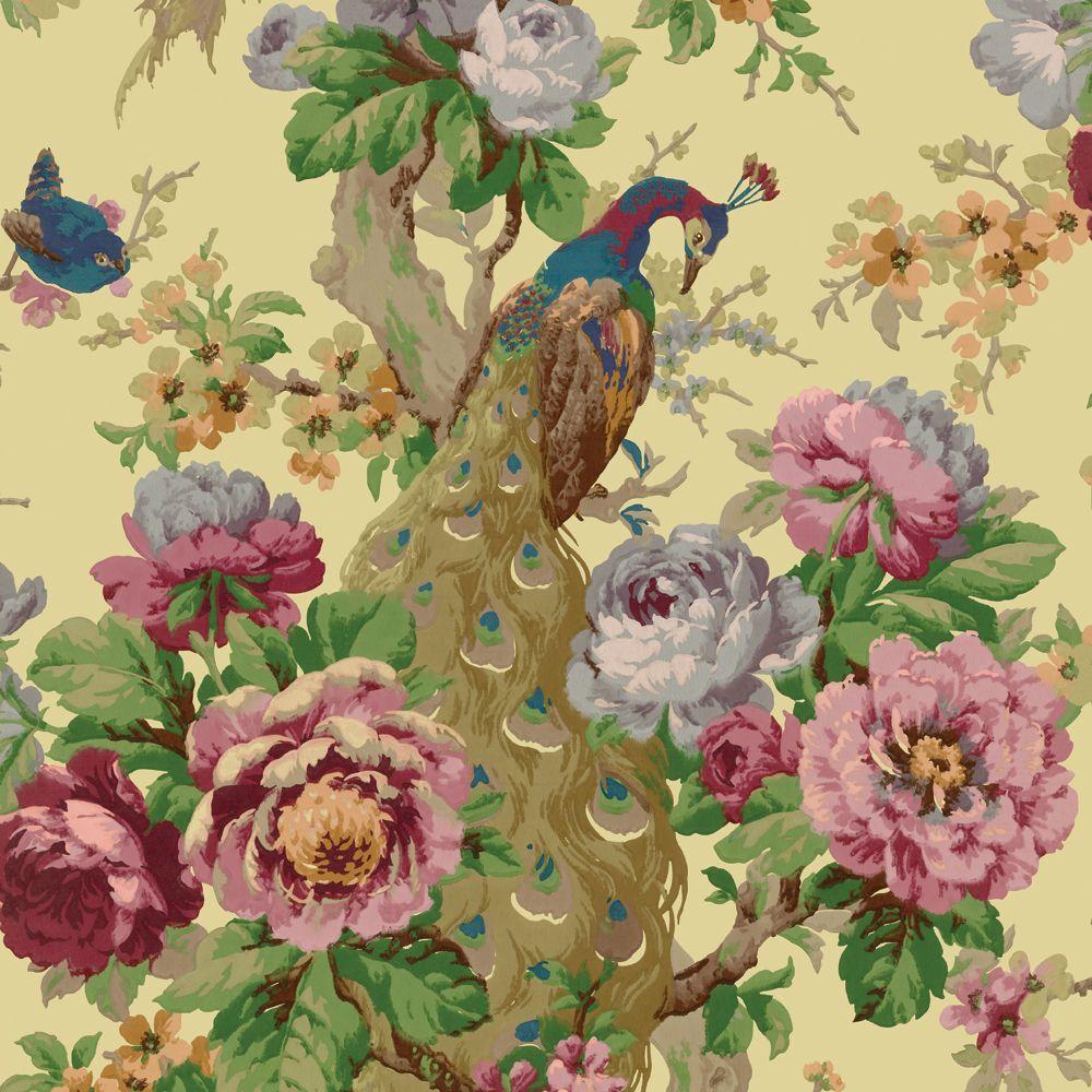 Vintage 1920s Damask And Floral Wallpapers Bradbury Bradbury