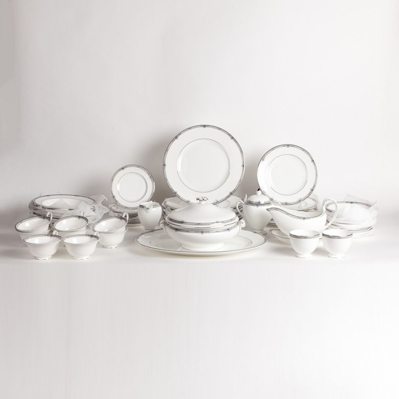 Wedgwood Bone China Amherst Tableware Set Tableware Set Wedgwood Tableware