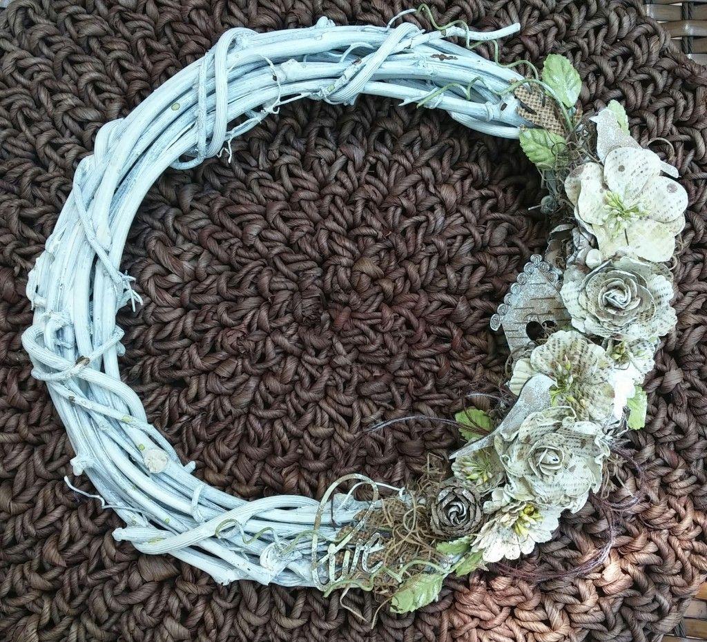 Summer Twig Wreath ~ Tara - Creative Embellishments
