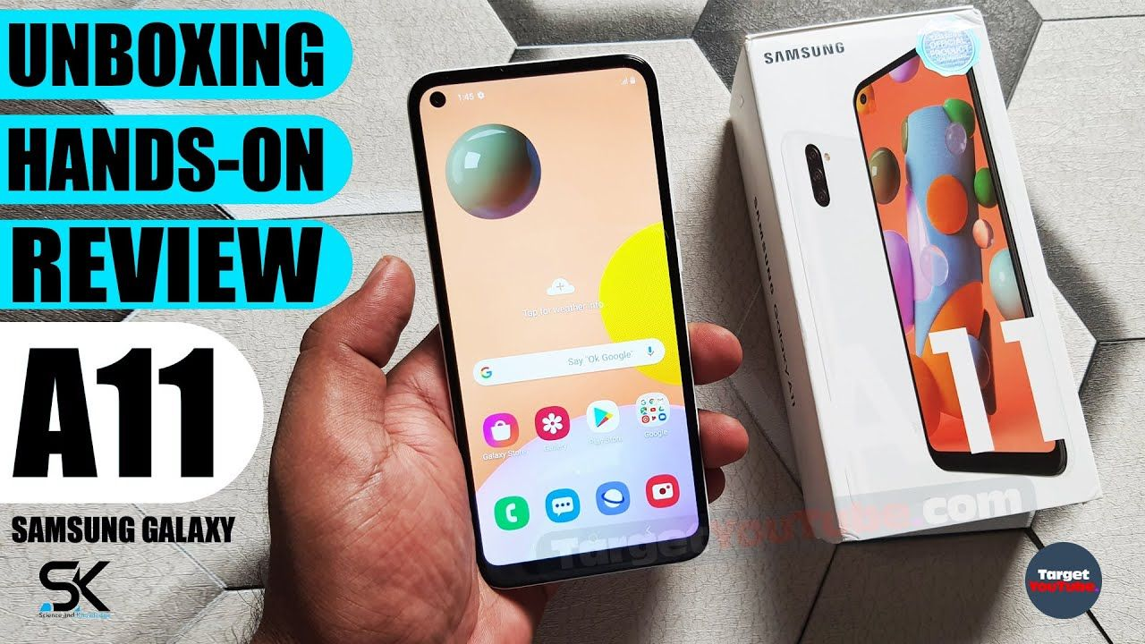 Samsung Galaxy A11 Unboxing Hands On Inexpensive With Premium Features Samsung Galaxy Galaxy Samsung Latest Mobile