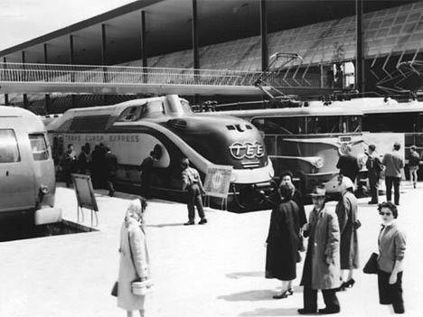 50 Jahre TEE Die Deutsche Bundesbahn wartete dabei